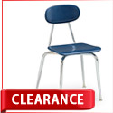 Viking Solid Plastic School Chair by Smith System