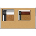 Click here for more VT Logic Tackboard w/ Origin Trim by Best-Rite by Worthington