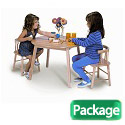 Wood Table & Chair Set by Whitney Brothers