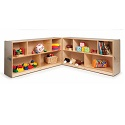 Click here for more Fold & Roll Storage Cabinets by Whitney Brothers by Worthington