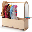 Portable Dress-Up Rack by Whitney Brothers