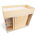 Click here for more EZ Clean Birch Changing Table by Whitney Brothers by Worthington
