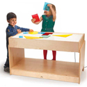 Click here for more Large Light Table by Whitney Brothers by Worthington