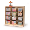 12 Cubby Storage Cabinet by Whitney Brothers