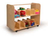Click here for more Mobile Lunch Box/Backpack Storage by Whitney Brothers by Worthington
