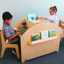 Click here for more Two Student Adjustable Library Desk by Whitney Brothers by Worthington