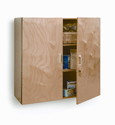 Click here for more Lockable Wall Cabinet by Whitney Brothers by Worthington