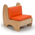 Contemporary Reading Chair by Whitney Brothers