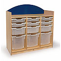Click here for more Rainbow Tray Storage Cabinet by Whitney Brothers by Worthington
