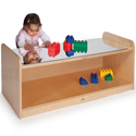 Click here for more Play Table W/ Mirror Top by Whitney Brothers by Worthington