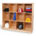 12 Cubby Backpack Storage Unit by Whitney Brothers