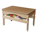 Click here for more Absolute Best Sand & Water Sensory Center w/ Lid by Wood Designs by Worthington
