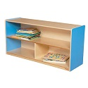 Click here for more Healthy Kids Colors Versatile Shelf Storage by Wood Designs by Worthington