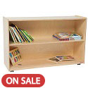 Premium Shelf Storage Cabinet by Wood Designs