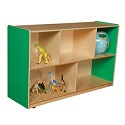 Healthy Kids Colors Mobile Single Storage by Wood Designs
