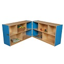 Click here for more Healthy Kids Colors Folding Storage Units by Wood Designs by Worthington