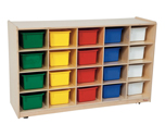 Click here for more Tip-Me-Not Tray Storage by Wood Designs by Worthington