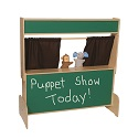 Click here for more Deluxe Puppet Theater by Wood Designs by Worthington