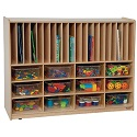 Tip-Me-Not Portfolio Storage by Wood Designs