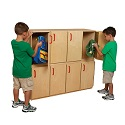 Stacking Locker by Wood Designs