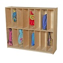 Click here for more 16 Section Locker by Wood Designs by Worthington