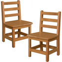 Hardwood Birch Chairs by Wood Designs