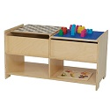 Click here for more Build-N-Play Table by Wood Designs by Worthington