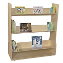 Click here for more Book Display Carts by Wood Designs by Worthington