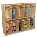 Click here for more 10 Section Locker by Wood Designs by Worthington