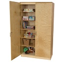 Click here for more Wooden Resource Cabinets by Wood Designs by Worthington