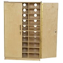 Click here for more Tablet Storage Cabinet by Wood Designs by Worthington