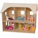 Click here for more Doll House by Wood Designs by Worthington