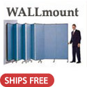 Click here for more Portable WALLmount Partition by Screenflex by Worthington