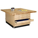 Duo Storage Workbench by Diversified Woodcrafts