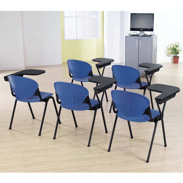 Terrific Kfi Seating Stack Chair With P Tablet Arm 2000Ta Plastic Alphanode Cool Chair Designs And Ideas Alphanodeonline