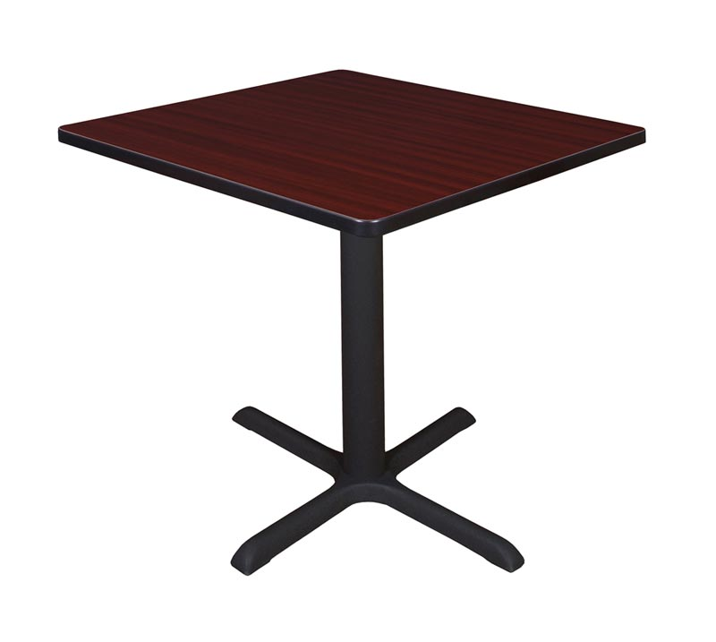 regency office furniture cain base square cafe table