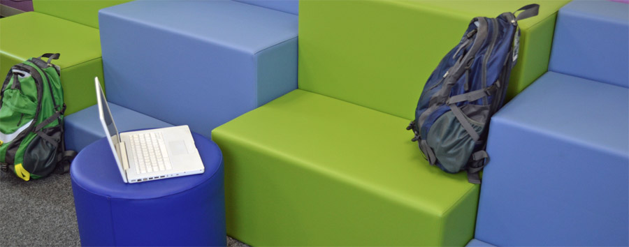 Tiered soft seating from Marco Group