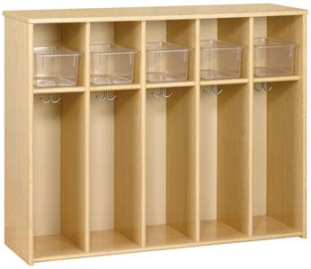 3061a-eco-fivesection-locker-unit-toddler-height-w-trays