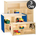 Tot- Mate 2000 Series Shelf Storage Units- Quick Ship