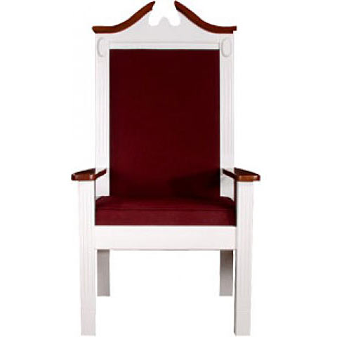 tpc603c-52hx25wx20d-fabric-seat-and-back-white-wlight-oak-trim-colonial-style-center-pulpit-chair
