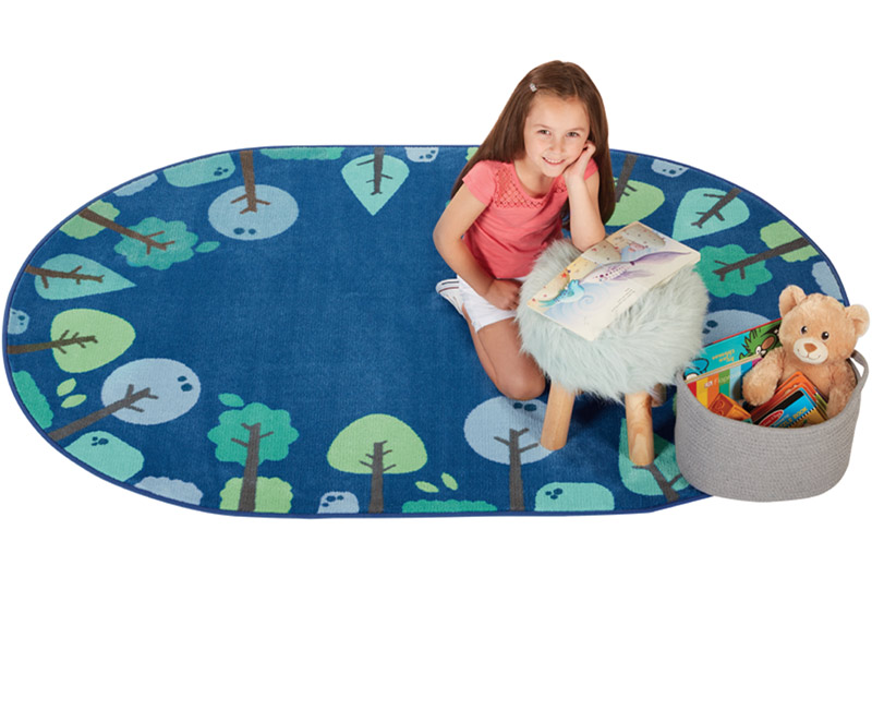 1764-tranquil-trees-kidsoft-rug-4x6-oval-blue