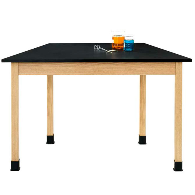 tz7142m30n-hardwood-science-lab-table-chemguard-30x60-trapezoid-maple
