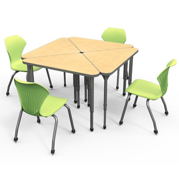 3-Sided Collaborative Desks by Marco Group