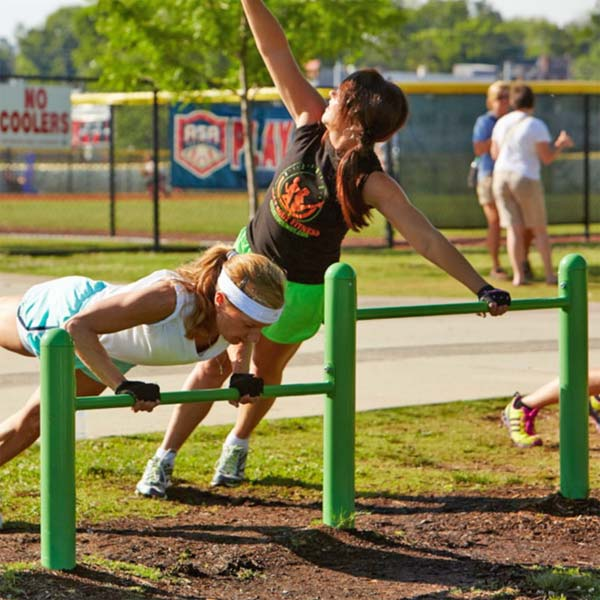 Push-Up Outdoor Park Exercise Station