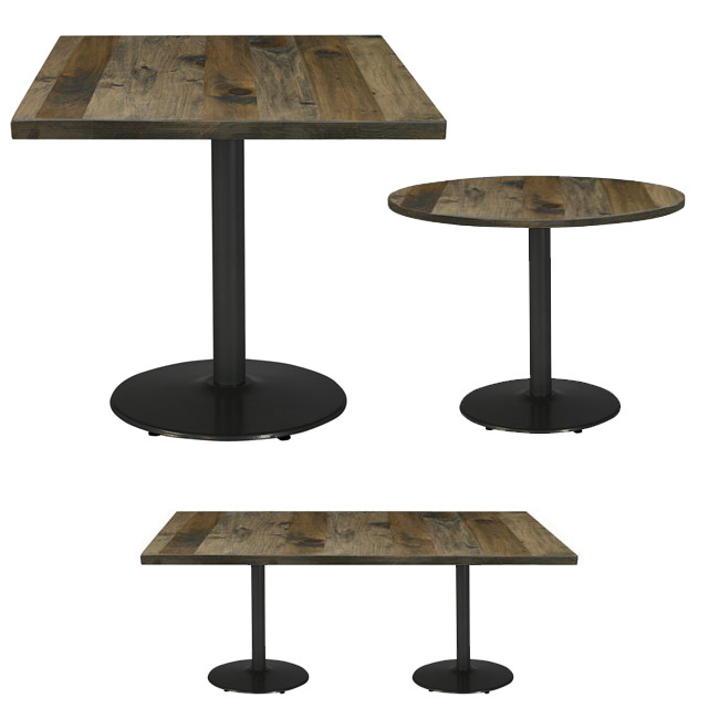 wrought ron portable ndoor outdoor log rack storage.htm all urban loft round cast iron base cafe tables by kfi options  round cast iron base cafe tables by kfi