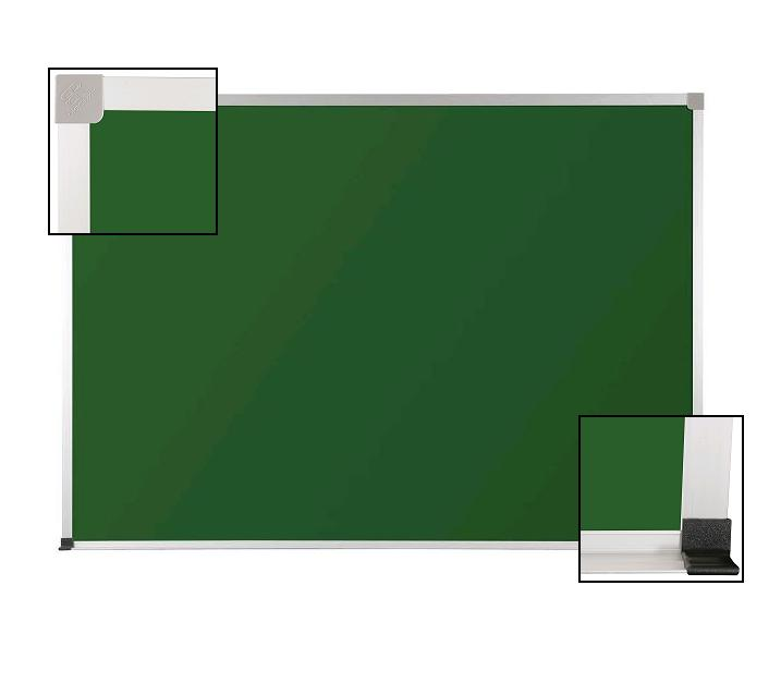 101ac-3x4-aluminum-frame-green-chalkboard-with-1-map-rail