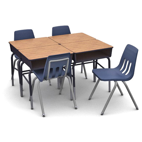 Virco Classroom Desk School Chair Packages 24 Hour Quick Ship Worthington Direct