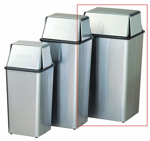 36htss-wastewatcher-stainless-steel-push-top-receptacle-36-gallon