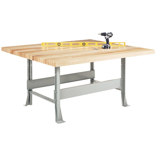 Peachy Workbench W Steel Base 4 Station Andrewgaddart Wooden Chair Designs For Living Room Andrewgaddartcom