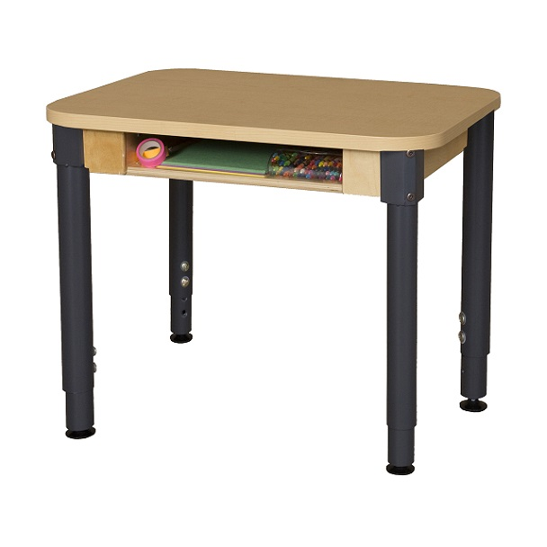 Wood Designs Wd1824dskhpla Student Desk W Adjustable Legs
